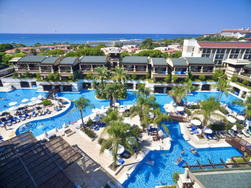 A view of the pool at Sunis Kumkoy Beach Resort Hotel & Spa or nearby