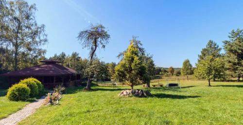 Ogród w obiekcie Agroturystyka Arkadia