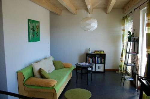A seating area at BNB Les Prises