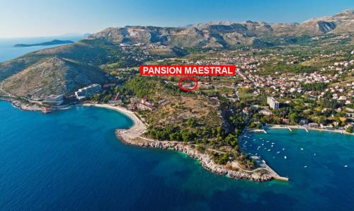 A bird's-eye view of Pension Maestral