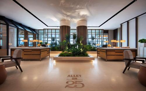 The lobby or reception area at Andaz Singapore – A Concept by Hyatt (SG Clean)