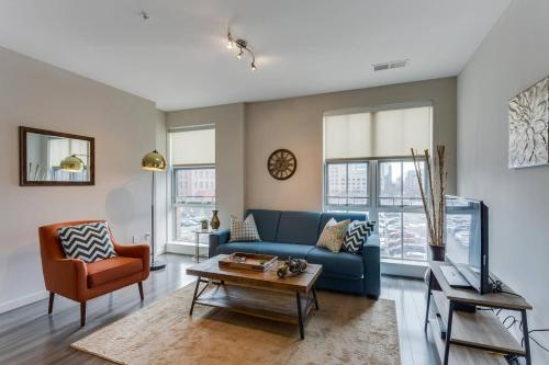 A seating area at Two Bedroom on H Street