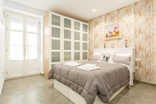 Cama o camas de una habitación en old SAETA