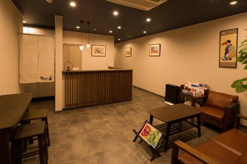 ゲストハウスゆかり京都のロビーまたはフロント