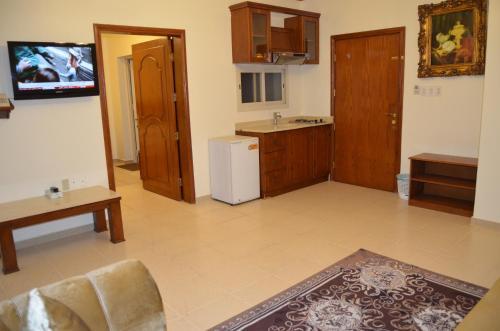 A cozinha ou cozinha compacta de Badova residential units