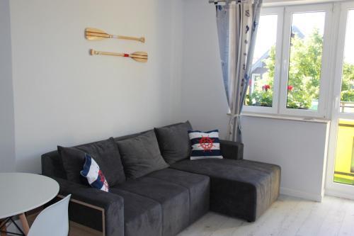 Część wypoczynkowa w obiekcie Apartamenty Baltico Ustka