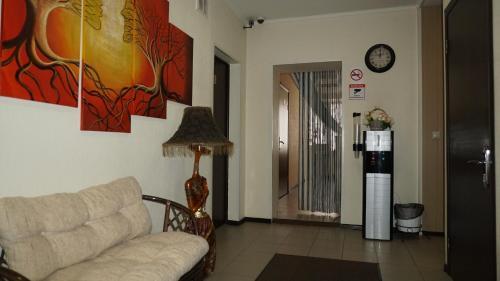Гостиная зона в Отель Александрия Капотня