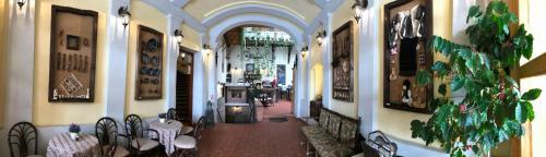 Zona de hol sau recepție la Pensiunea Gasthaus Alte Post