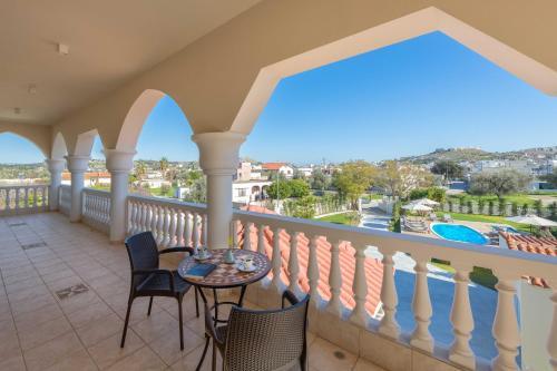 Balkon lub taras w obiekcie Evelyn Villa