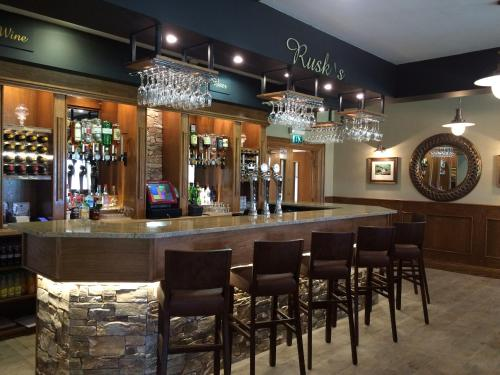 The lounge or bar area at Clogher Valley Golf Club