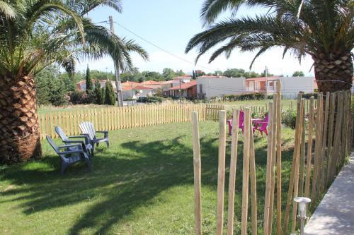 Children's play area at Mas de l Aire