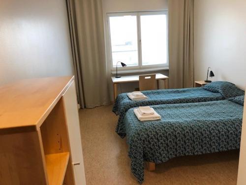 Lova arba lovos apgyvendinimo įstaigoje Töölö Towers