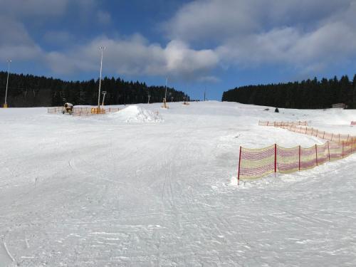 Gasthof 'Zum Reifberg' during the winter