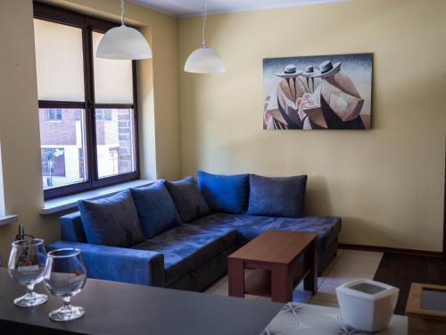 Część wypoczynkowa w obiekcie Apartament Stare Miasto 2