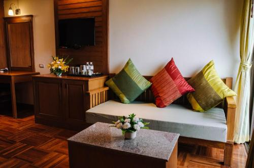 A seating area at Hua Hin Golf Villa