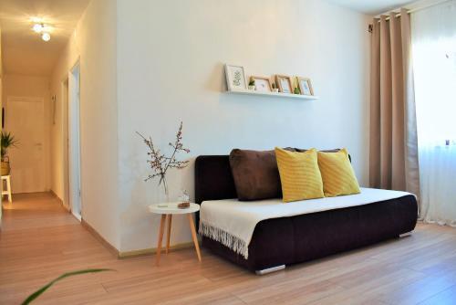 Zona de estar de Apartment Antonija