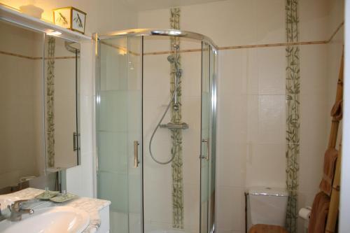 A bathroom at Chambres d'Hôtes Le Petit Nailly