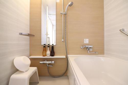 A bathroom at Hiyori Hotel Maihama