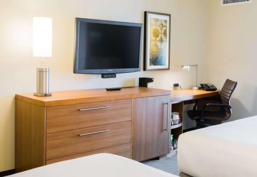 A television and/or entertainment center at Hyatt Place Daytona Beach-Oceanfront