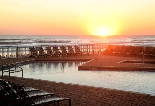 The swimming pool at or near Hyatt Place Daytona Beach-Oceanfront