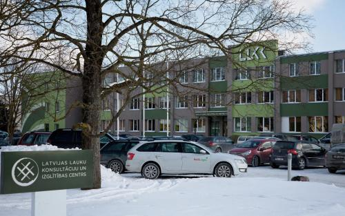 LLKC Hostel during the winter