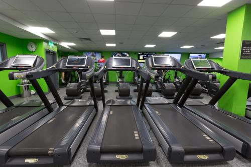 The fitness center and/or fitness facilities at Village Hotel Hull