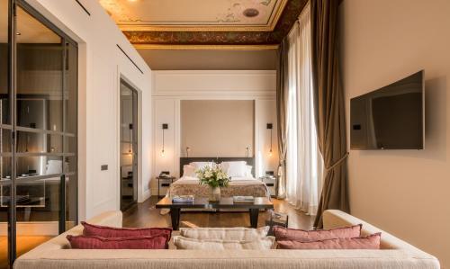 Część wypoczynkowa w obiekcie Sant Francesc Hotel Singular
