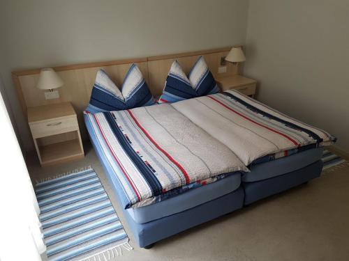 Кровать или кровати в номере Osteria Belvedere