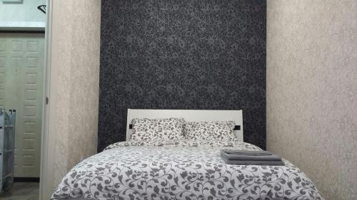Кровать или кровати в номере Apartment Panorama