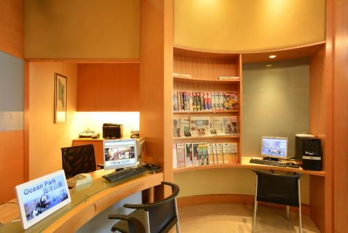 The business area and/or conference room at Metropark Hotel Causeway Bay Hong Kong
