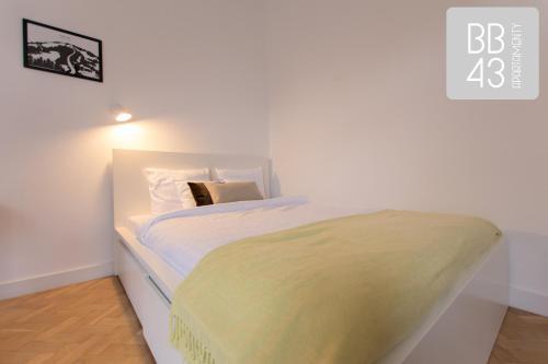 Łóżko lub łóżka w pokoju w obiekcie Apartament BB43 II
