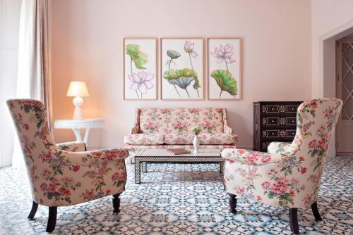 Część wypoczynkowa w obiekcie Hotel Cappuccino - Palma