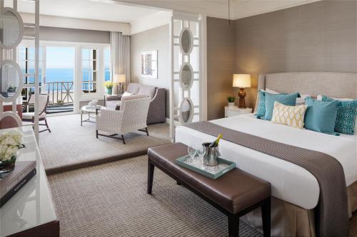 A seating area at Hotel del Coronado, Curio Collection by Hilton
