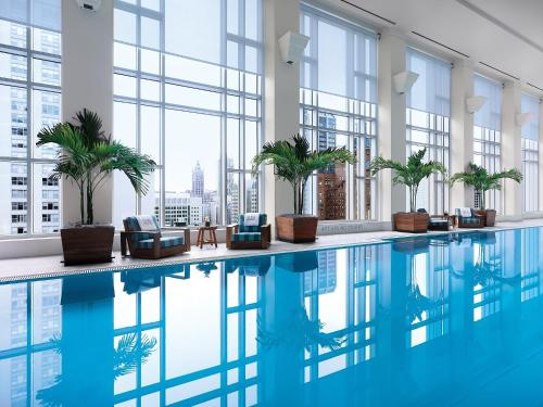 The swimming pool at or near The Peninsula Chicago