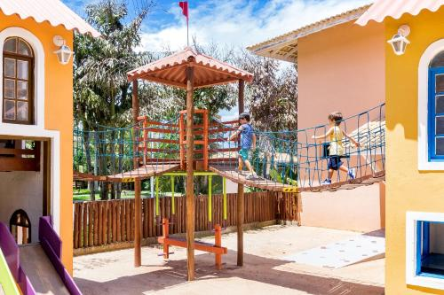 Children's play area at Hotel Mil Flores