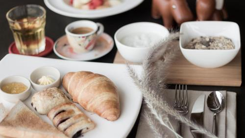 Breakfast options available to guests at Lala Mukha Tented Resort Khao Yai