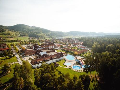 A bird's-eye view of Terme Zrece - Hotel Vital