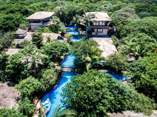Een luchtfoto van Sombra e Água Fresca Resort
