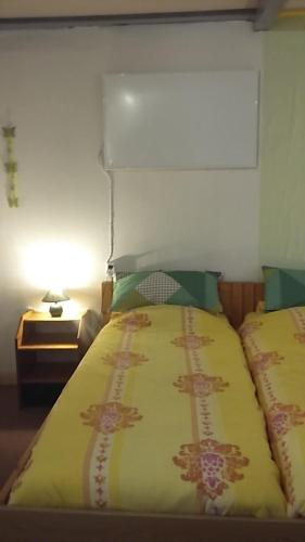 A bed or beds in a room at Martine-Hoeve