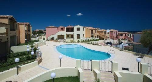 A view of the pool at Villaggio Turchese or nearby