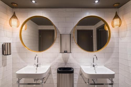 Un baño de Clarion Collection Hotel Gabelshus