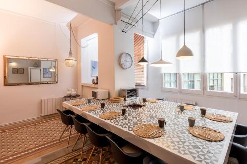 Una cocina o zona de cocina en BCN Luxury Apartments