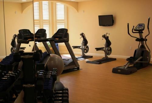 The fitness center and/or fitness facilities at The Bruce Hotel