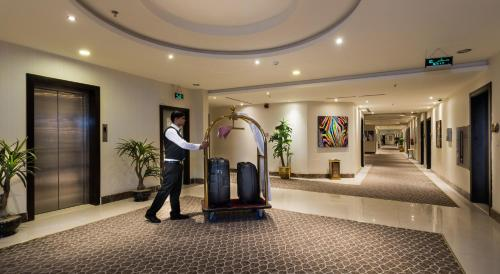 Academia e/ou comodidades em Myan Al Urubah Hotel