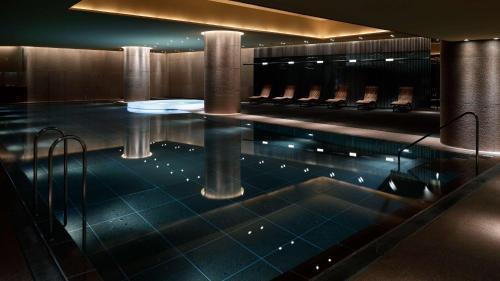 The swimming pool at or near Grand Hyatt Tokyo
