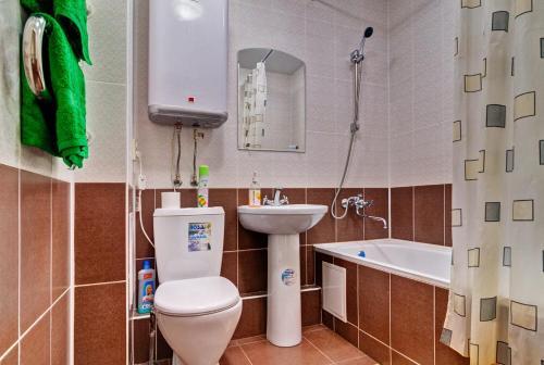 Ванная комната в Апартаменты на ул. Чкалова, д. 19