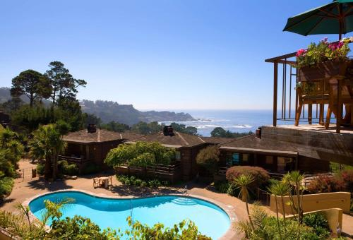 A view of the pool at Hyatt Carmel Highlands or nearby