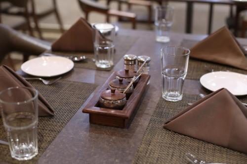 A restaurant or other place to eat at Native By Chancery Hotels