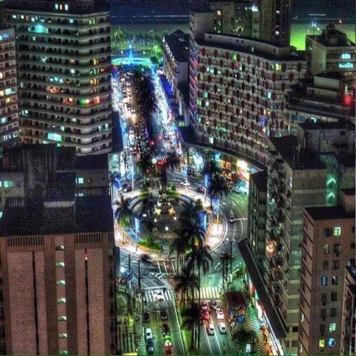 Uma vista aérea de Apartamento Itapiranga