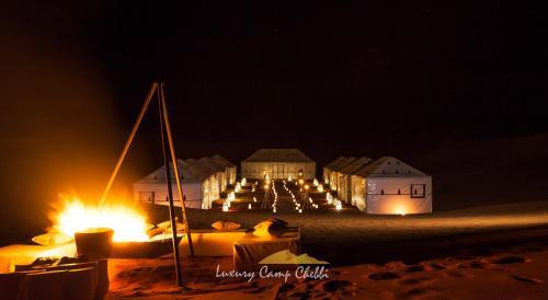 Bâtiment de the luxury tent